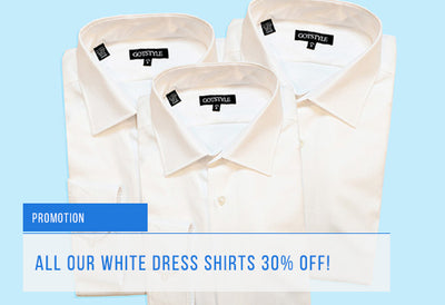 Shop Our Sale White Dress Shirts!