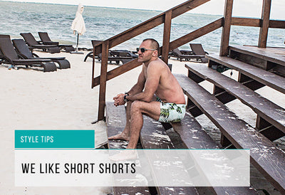 Shorter Swim Shorts for 2016