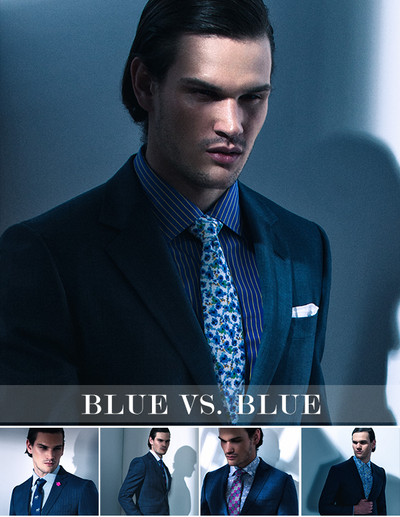 Hues of Blue: Five Ways To Rock A Blue Suit