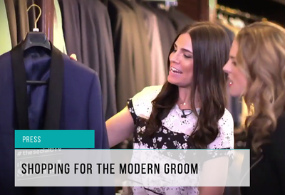 Modern Grooms Segment on The Social with Gotstyle