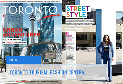 Toronto Tourism: Fashion Central / Street Style