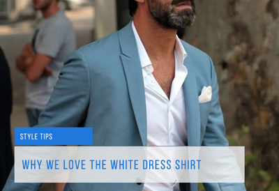 10 Reasons To Wear A White Dress Shirt
