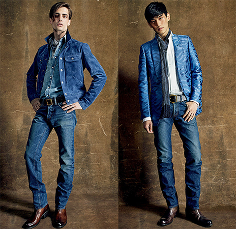 how to successfully style a Canadian tuxedo