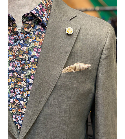 grey_blazer_paired_with_floral_shirt