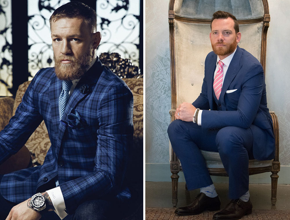 conor mcgregor suit look