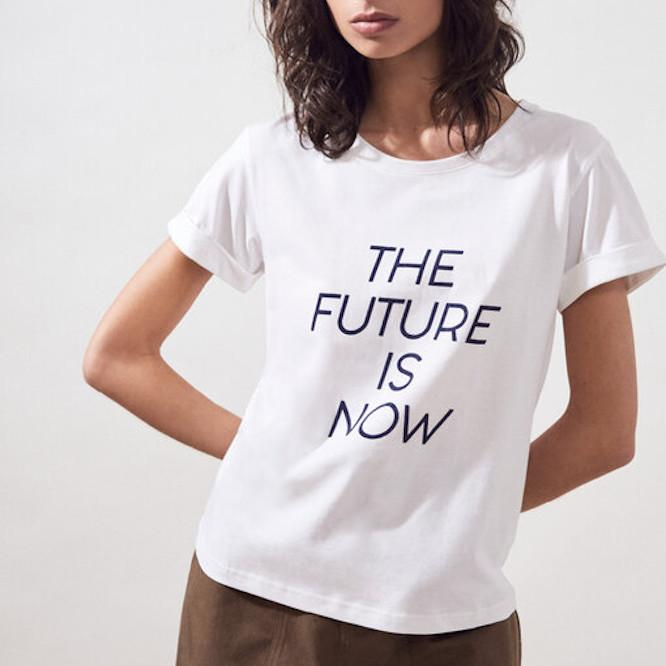 Suncoo Tops Miles The Future Is Now T-Shirt - Gotstyle The Menswear Store