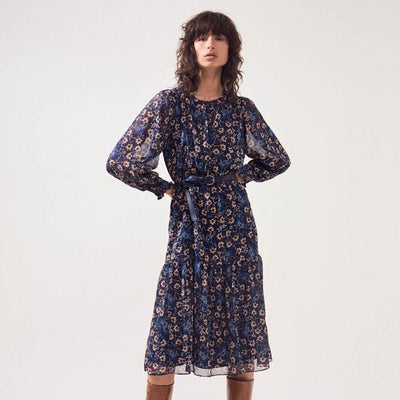 Cindy Floral Print Prairie Dress - Gotstyle The Menswear Store