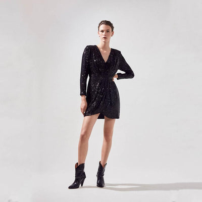 Gotstyle - Suncoo Dresses Carmela Sequin Party Dress