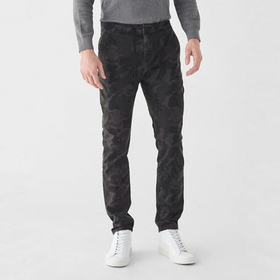 Gotstyle - DL1961 Pants Tonal Camo Track Chino - Charcoal
