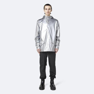 Rains Jackets Classic Rain Jacket - Silver - Gotstyle The Menswear Store