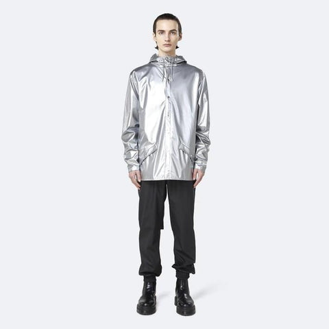 Rains MS - Outerwear - General Classic Rain Jacket - Silver - Gotstyle The Menswear Store