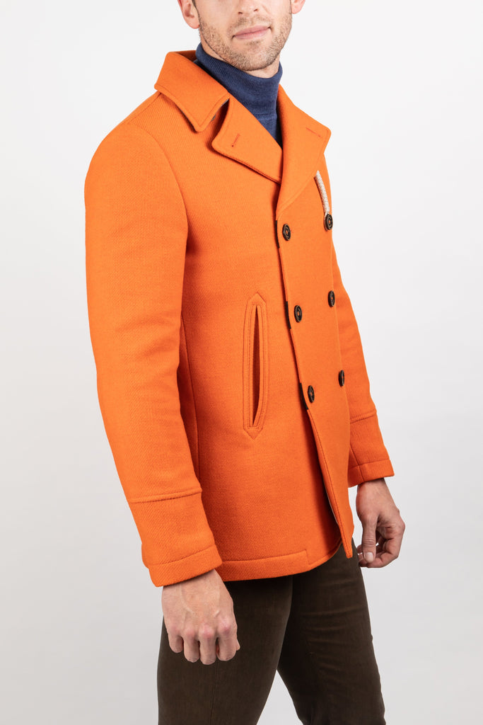 Camplin MS - Outerwear - Winter Camplin - Island Peacoat Rain Resistant Wool - Gotstyle The Menswear Store