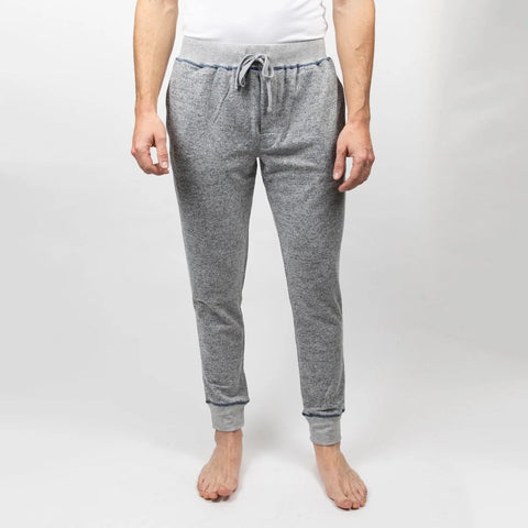 Majestic Industries MS - Bottoms - Other Casual Vintage - Man Jam Melange Knit Lounge Pant - Gotstyle The Menswear Store