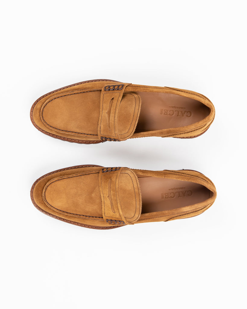 Suede Loafer w Ultra Lightweight Sole - Gotstyle The Menswear Store