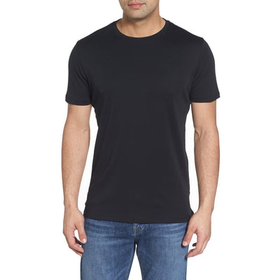 Gotstyle - Robert Barakett T-Shirts Soft Pima Cotton Crew Tee - Black