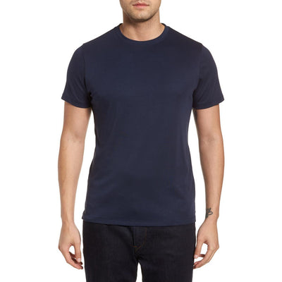 Gotstyle - Robert Barakett T-Shirts Soft Pima Cotton Crew Tee - Blue Night