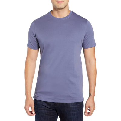 Gotstyle - Robert Barakett T-Shirts Soft Pima Cotton Crew Tee - Cool Grape