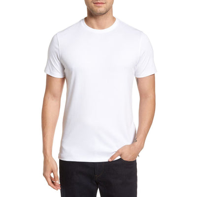 Gotstyle - Robert Barakett T-Shirts Soft Pima Cotton Crew Tee - White