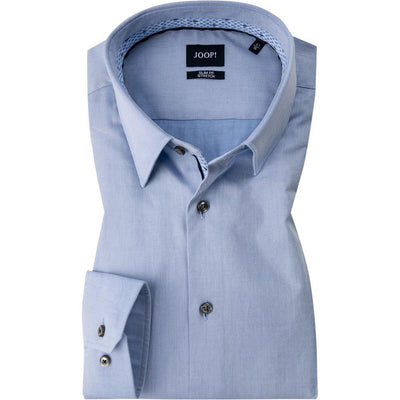 Gotstyle - Joop! Collar Shirts Twill Dress Shirt - Light Blue
