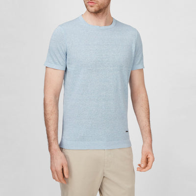 Gotstyle - Joop! T-Shirts Linen Blend Crew Tee with Logo