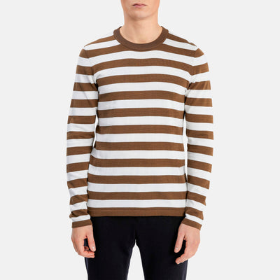 Gotstyle - Matinique Sweaters Stripe Long Sleeve Crew Sweater