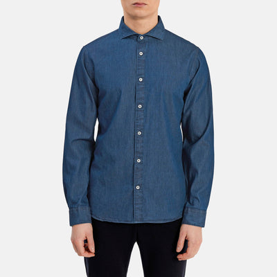 Gotstyle - Matinique Collar Shirts Spread Collar Denim Shirt
