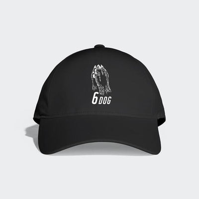 Gotstyle - 6dog Hats 6 Panel Baseball Cap - Black