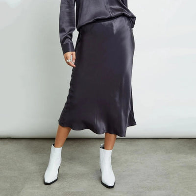 Gotstyle - Rails Skirts Silky Slim Midi Skirt