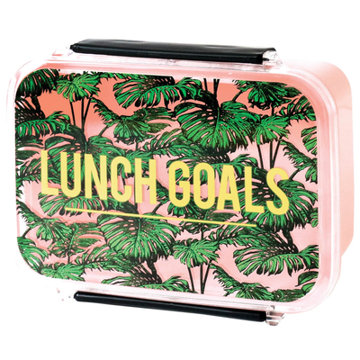 Alice Scott Gifts Tropical Lunch Goals Lunch Box - Gotstyle The Menswear Store