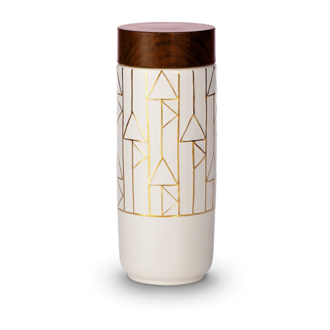 Faire Gifts Alchemical Signs Ceramics Tumbler w Negative Ion Technology - Gotstyle The Menswear Store