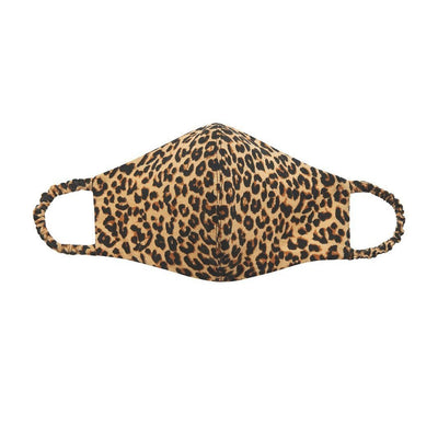 Ava + Kris Mask Knit Face Mask - Leopard - Gotstyle The Menswear Store