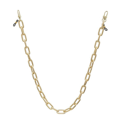 Ava + Kris Mask Kate Face Mask Chain - Gold - Gotstyle The Menswear Store