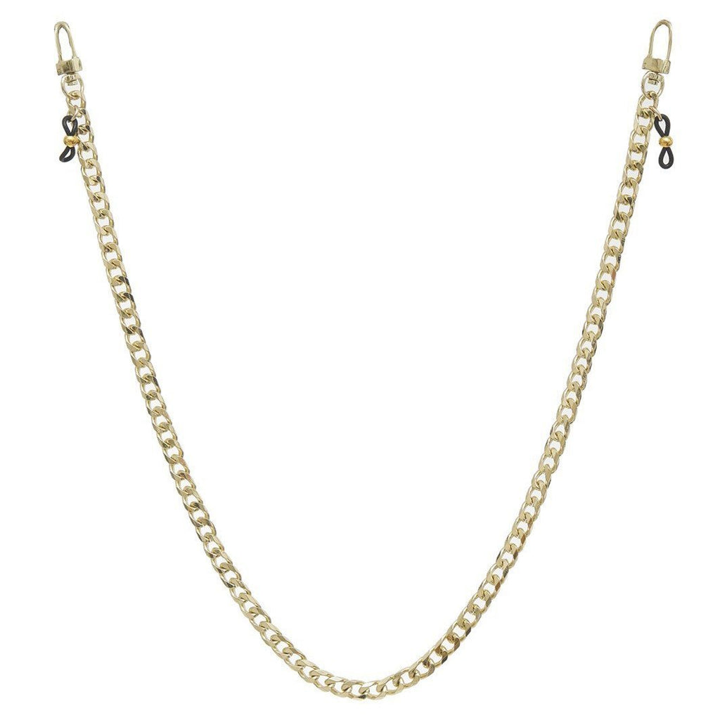 Jenny Face Mask Chain - Yellow Gold - Gotstyle The Menswear Store