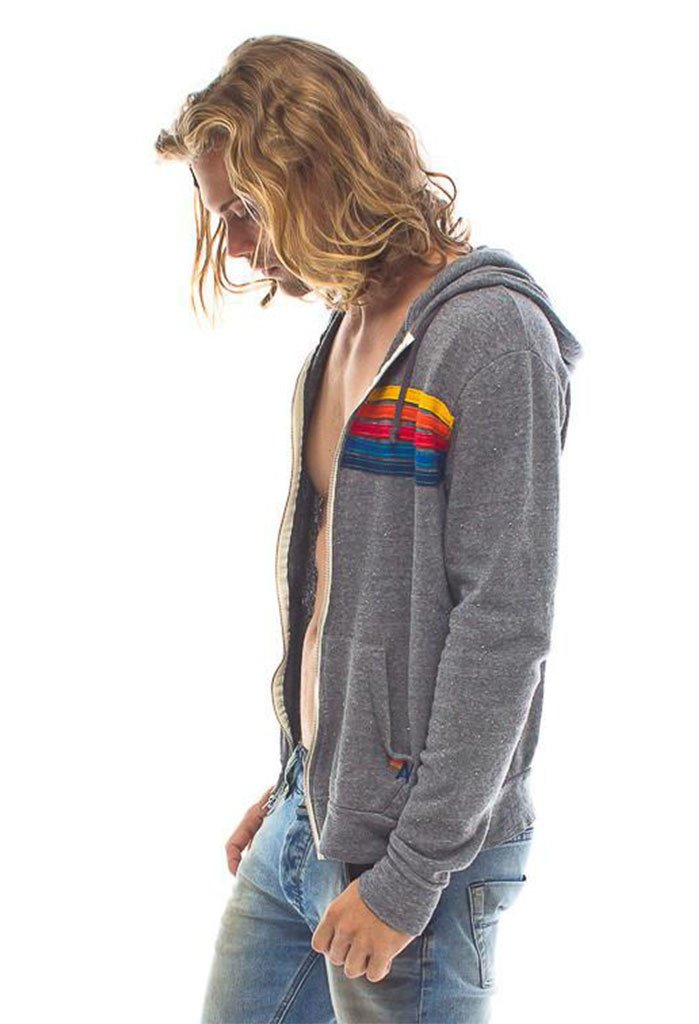 Aviator Nation MS - Sweaters - Casual Aviator Nation 5 Stripe Hoodie - Gotstyle The Menswear Store