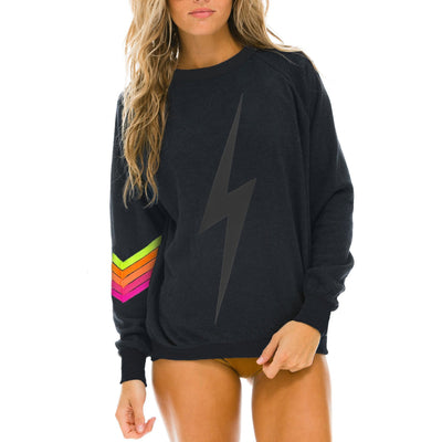 Bolt Stitch Neon Chevron 5 Sweatshirt - Gotstyle The Menswear Store