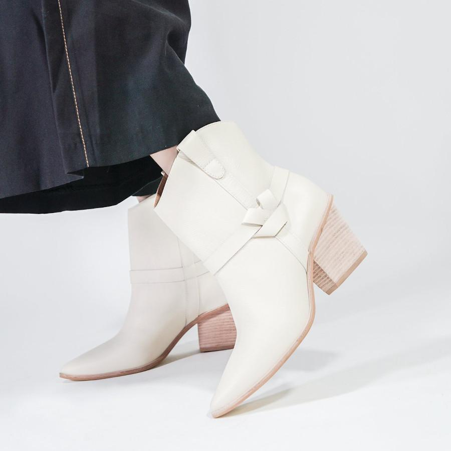 KAANAS Footwear Puglia Western-Inspired Nappa Leather Booties - Gotstyle The Menswear Store