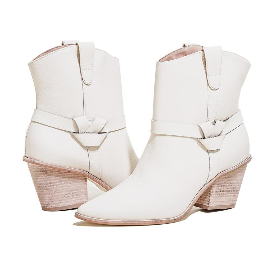 Puglia Western-Inspired Nappa Leather Booties - Gotstyle The Menswear Store