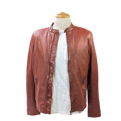 Bano eeMee Blazers Moncton Perf Biker Leather Jacket - Gotstyle The Menswear Store