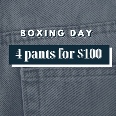 4 Pants for $100 - Gotstyle The Menswear Store