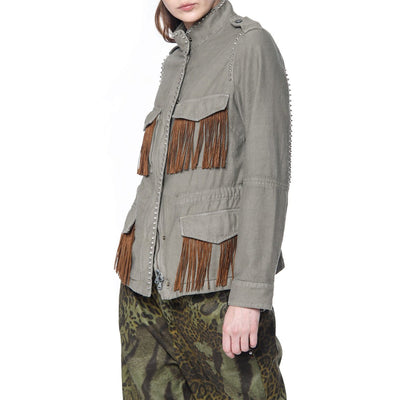 Gotstyle - Mason's Jackets Field Jacket with Fringes