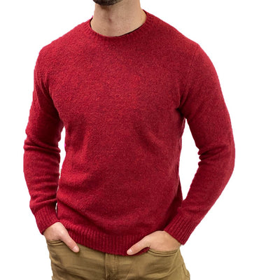 Gotstyle - Circolo 1901 Sweaters Brushed Boucle Wool Blend Crewneck