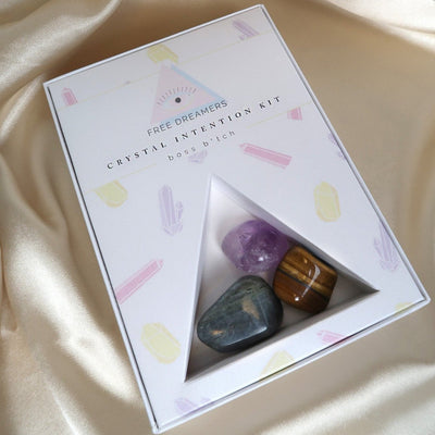 Free Dreamers Gifts Crystal Intention Kit - Boss Bitch - Gotstyle The Menswear Store