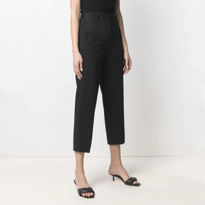 Gotstyle - Circolo 1901 Pants Oxford Cropped Dress Pant - black