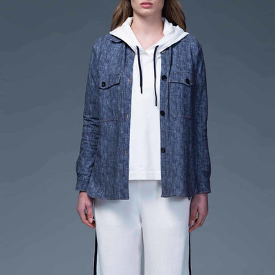 Gotstyle - Circolo 1901 Collar Shirts Jersey Denim Overshirt