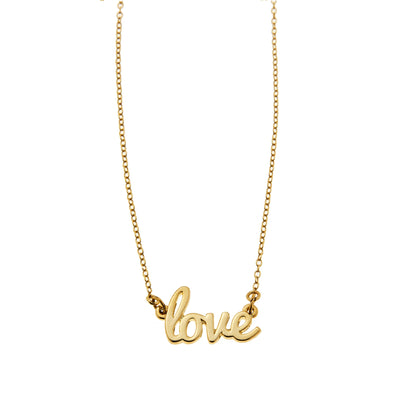 Foxy Originals Jewellery Love Necklace - Gotstyle The Menswear Store