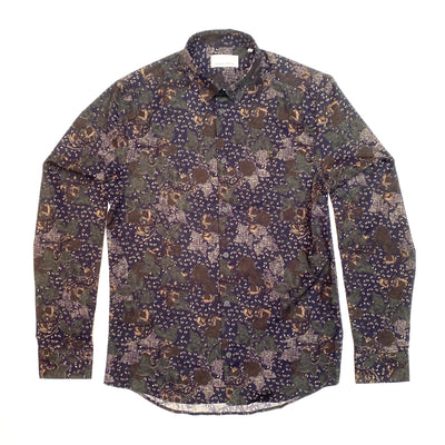 Arthur Abstract Floral Print LS Shirt - Gotstyle The Menswear Store