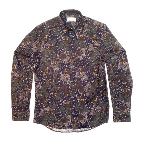 Arthur Abstract Floral Print LS Shirt