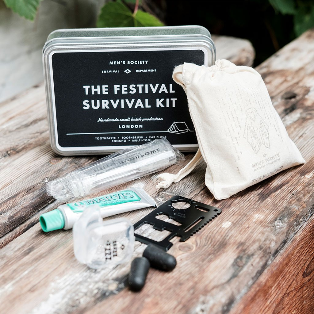 Men's Society Misc The Festival Survival Kit - Gotstyle The Menswear Store