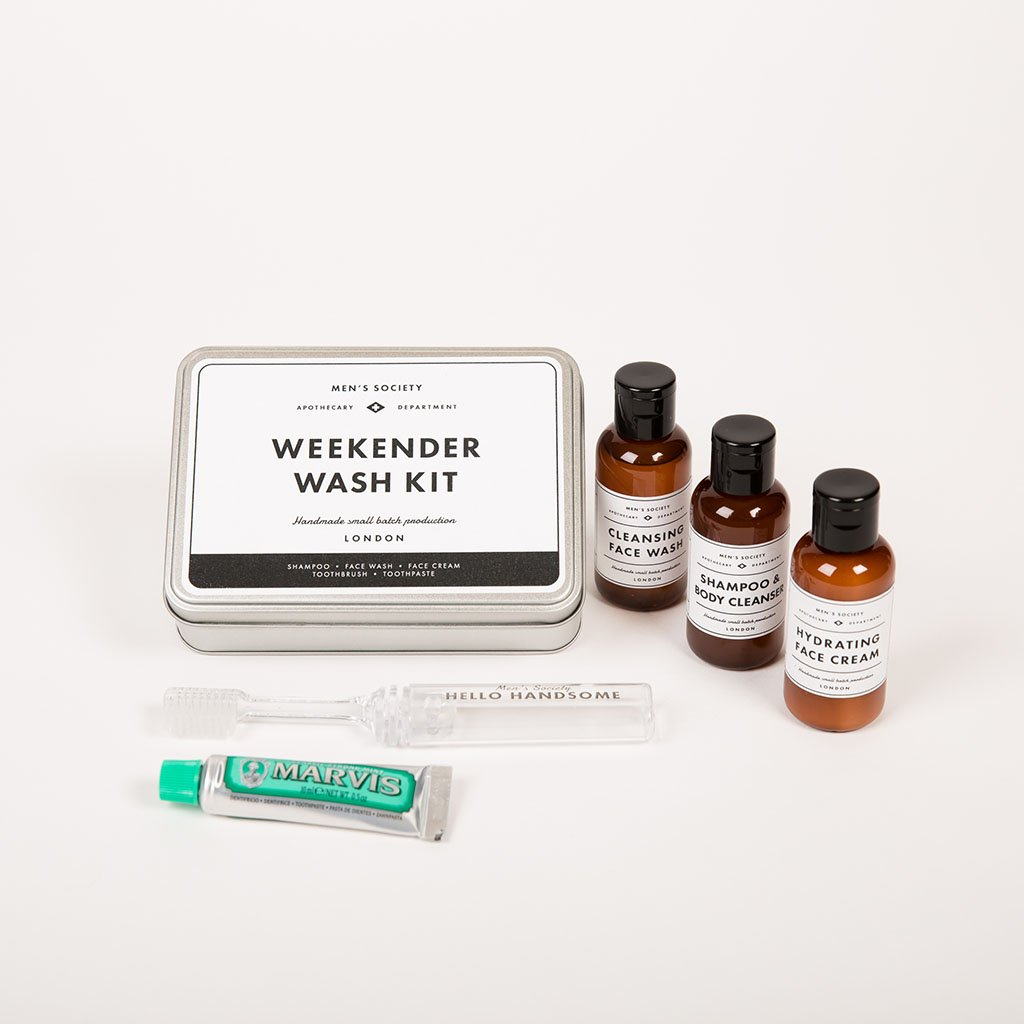 Men's Society MA - Grooming Products Weekender Wash Kit - Gotstyle The Menswear Store