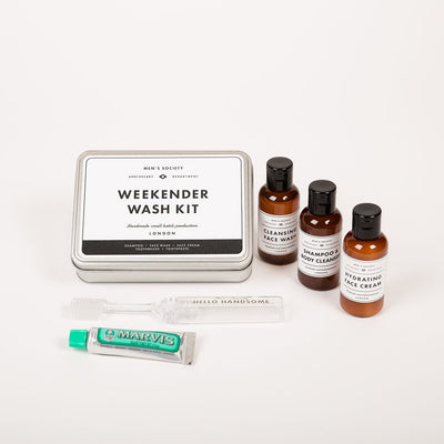 Men's Society Gifts Weekender Wash Kit - Gotstyle The Menswear Store